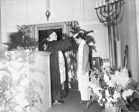 PictureThe bar mitzvah of Mitchell Applerouth, 1948. State Archives of Florida.