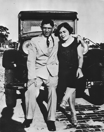Leon and Lillie Haliczer, early members of Congregation B'nai Israel, in 1925. State Archives of Florida.Picture